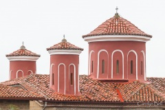Agios Stefanos - detail of towers
