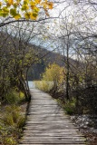 Walk way to Proscansko Jezero