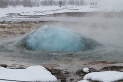Strokkur in winter
