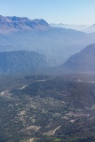 Valleys and mountains of central Greece