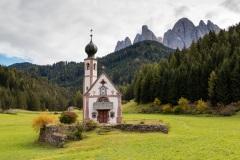 The tiny church of St John Neopmuk in Ranui
