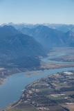 Pitt river outside Vancouver