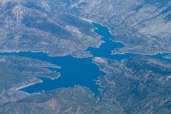 Mornos artificial lake