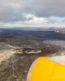 Volcanic crater near Keflavik
