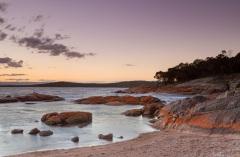 Coles Bay at dusk
