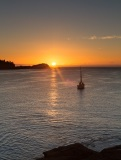 Sunrise from Sleepy Bay