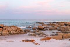 Friendly Beaches at dusk