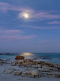 Friendly Beaches by moonlight