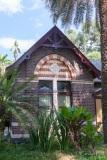 Heritage brick building , botanic gardens