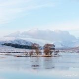 Loch Droma on a tranquil January afternoon