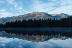 Beauvert Lake with Whistler's Mountain
