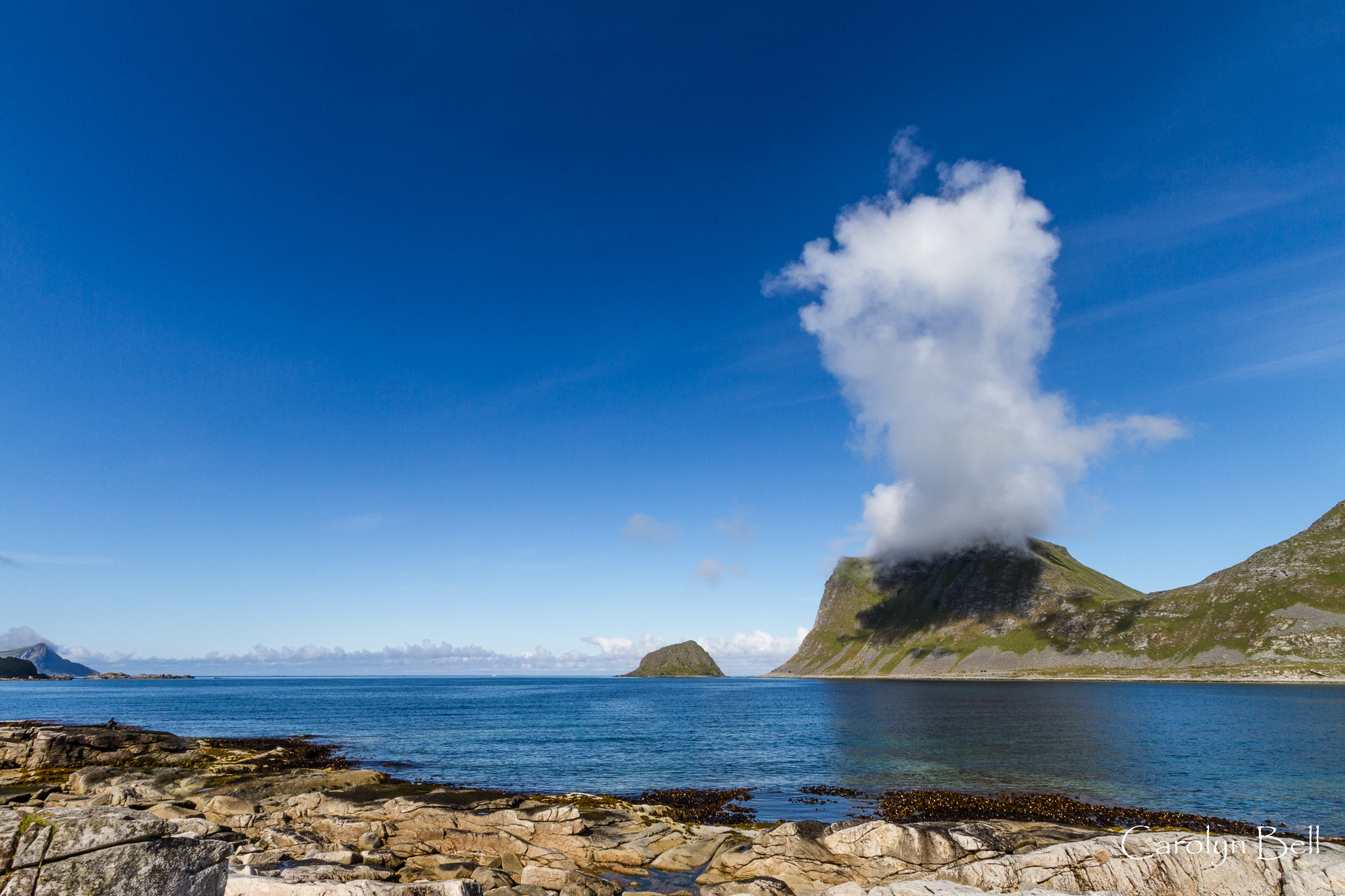 A cap cloud from Vikspollen, Norway