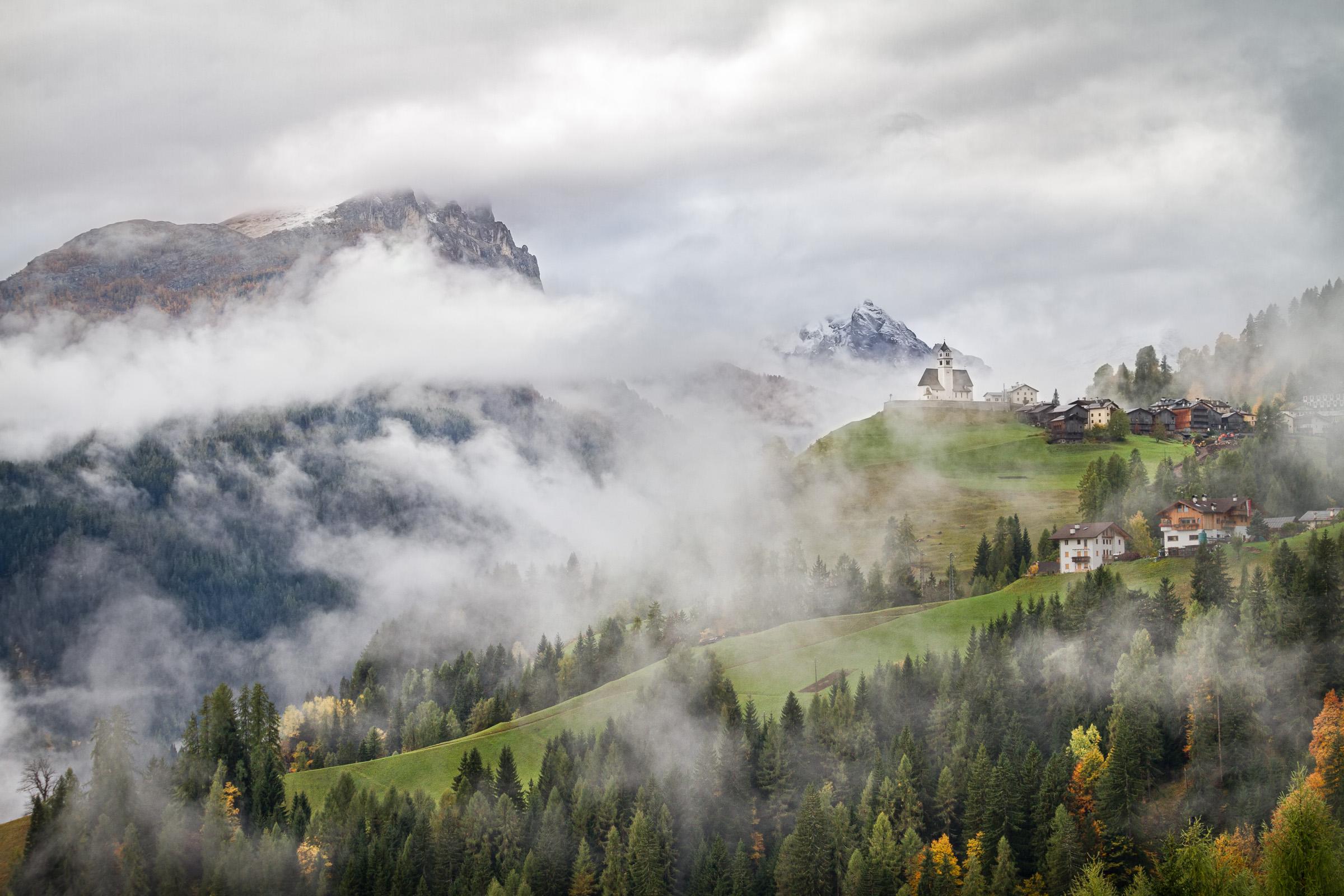 Colle di Santa Lucia, Dolomites, Italy