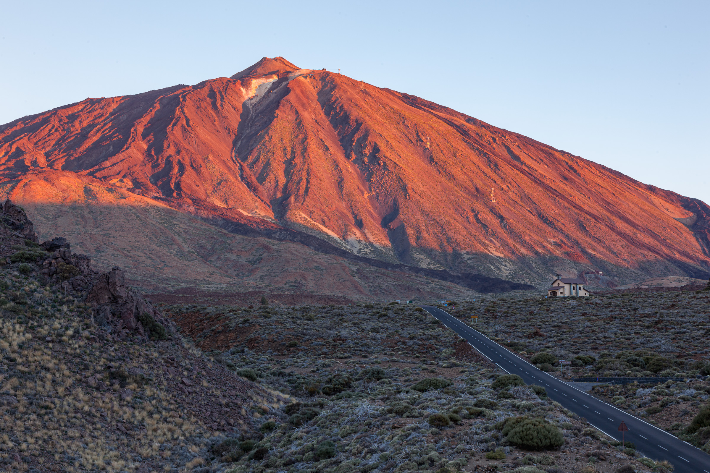 First light on Mount Teide, Tenerife