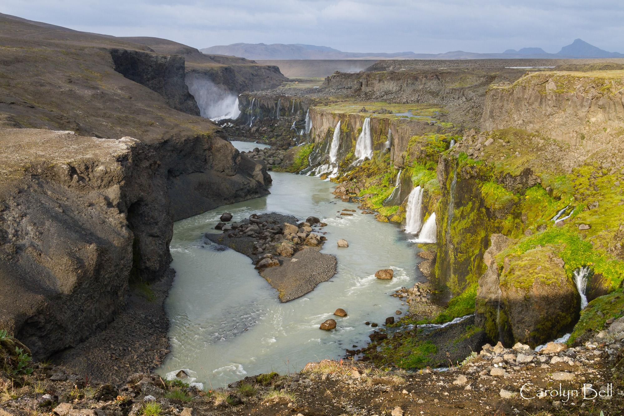 Sigoldugljufur canyon, Iceland