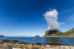 A cap cloud from Vikspollen, Norway