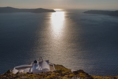Chapel of Panagia Theoskepasti, Santorini, Greece