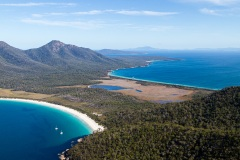 The view from Mount Amos, Tasmania