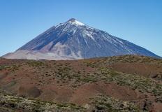 Mount Teide snowcap, Tenerife
