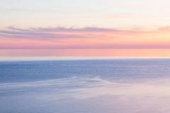 Pastel sunset, Cape Breton Island, Canada