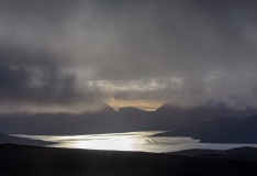 Skye from Dun Caan, Raasay, Scotland