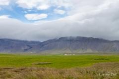 Farmland on the peninsula's south coast