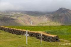 The grave yard at Budir