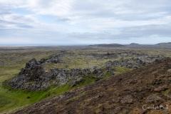 Craters at Saxholar