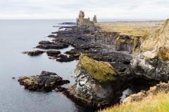 Londrangar Basalt cliffs