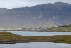 Grundarfjordur village
