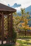 San Pietro garden, Val di Funes