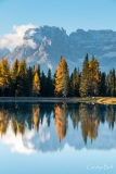 Reflection in Lake D'Antorno