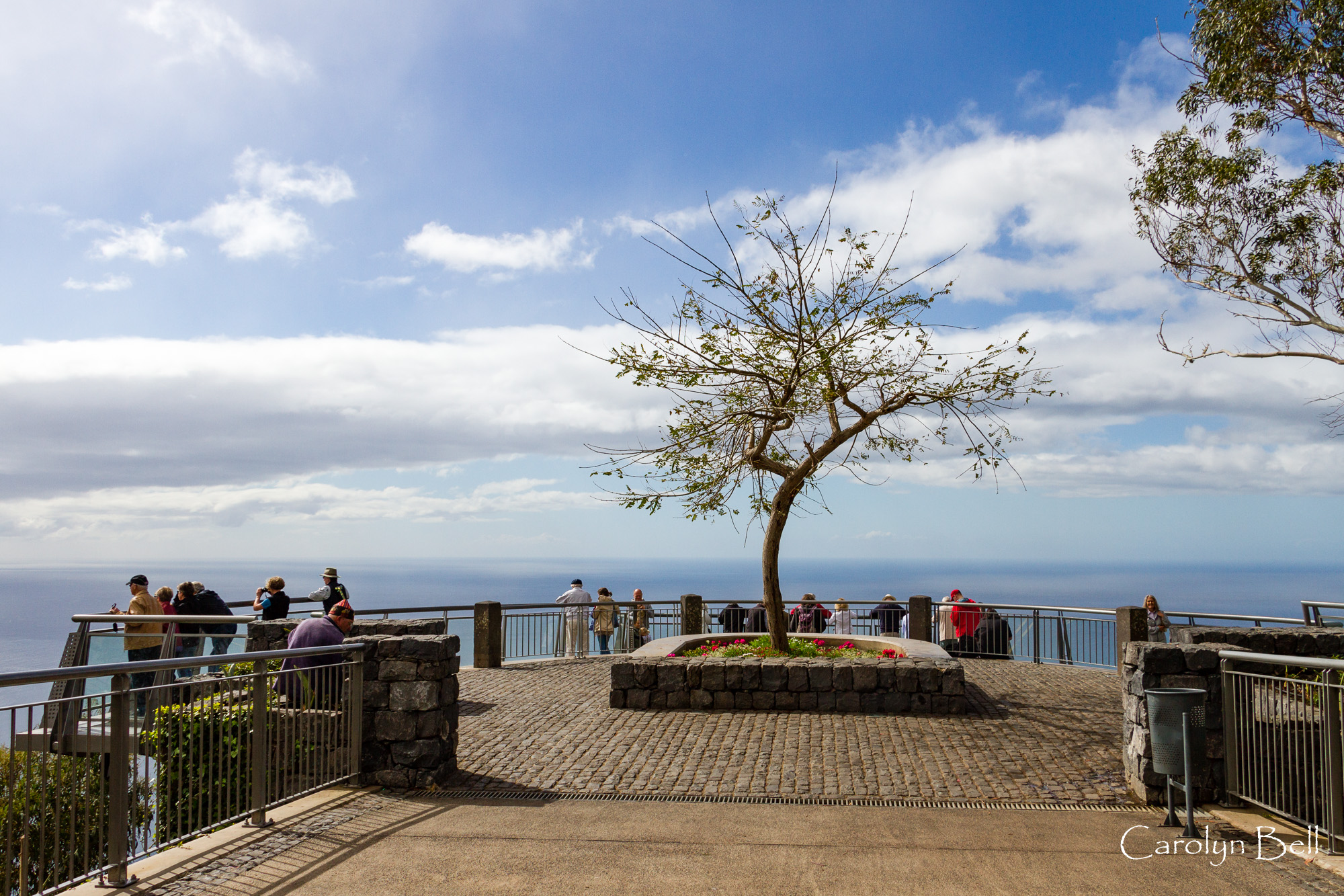 The viewing platform, Cabo Girao