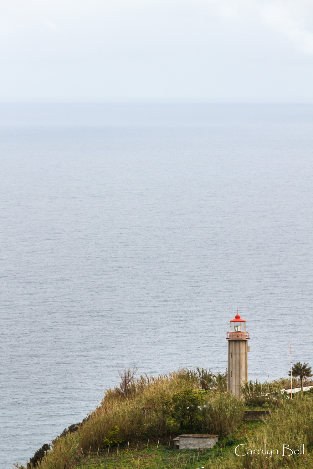 The lighthouse at Ponta de Sao Jorge