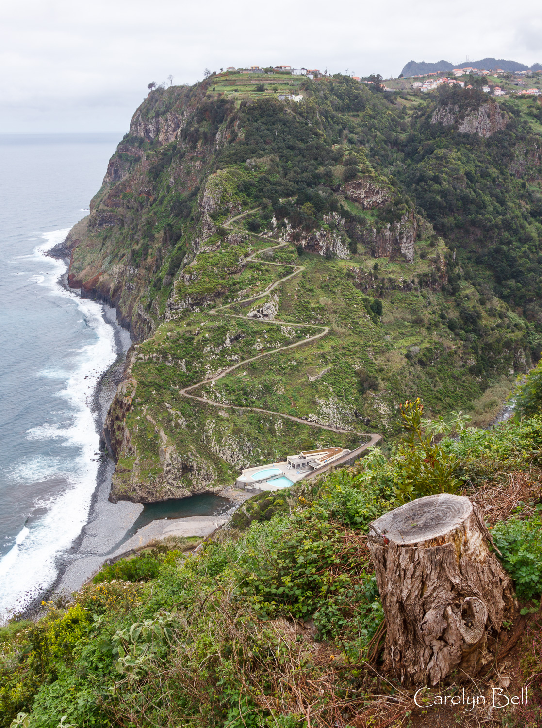 From the viewpoint near Ponta de Sao Jorge