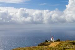 The lighthouse at Ponta do Pargo