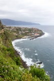From the road above Ponta Delgada