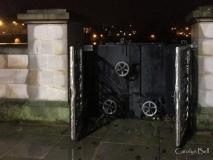 closed flood gates