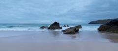 Rocks on Sango Bay