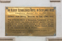 Salutation Hotel Plaque, South Street