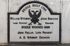 Bridge Information Plaque, Smeaton's Bridge