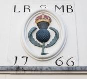 1766 Marriage Lintel, Fleshers Vennel