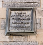 1891 Night Shelter for Destitute Women Plaque, Watergate