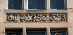 Cooperative Society Building Carving, Scott Street
