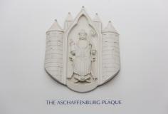 Aschaffenburg Plaque, St John's Centre Interior
