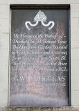 Bishop of Dunkeld House History Plaque, St John's Street