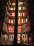 illuminated bookcase