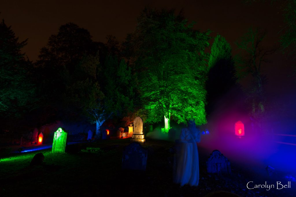 'Ghosts' at Scone Palace